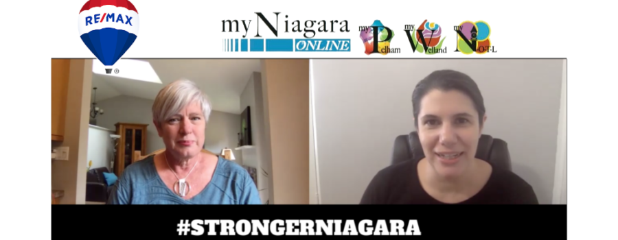 #STRONGERNIAGARA Episode 4: Meet Cathy Berkhout-Bosse of Re/Max Welland Realty and myNiagara Online