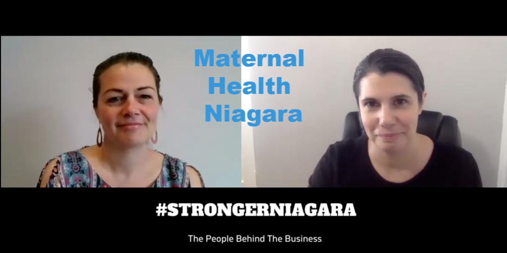 #STRONGERNIAGARA Episode 5: Meet Emily Pollak, MSW Social Worker and Owner of Maternal Health Niagara