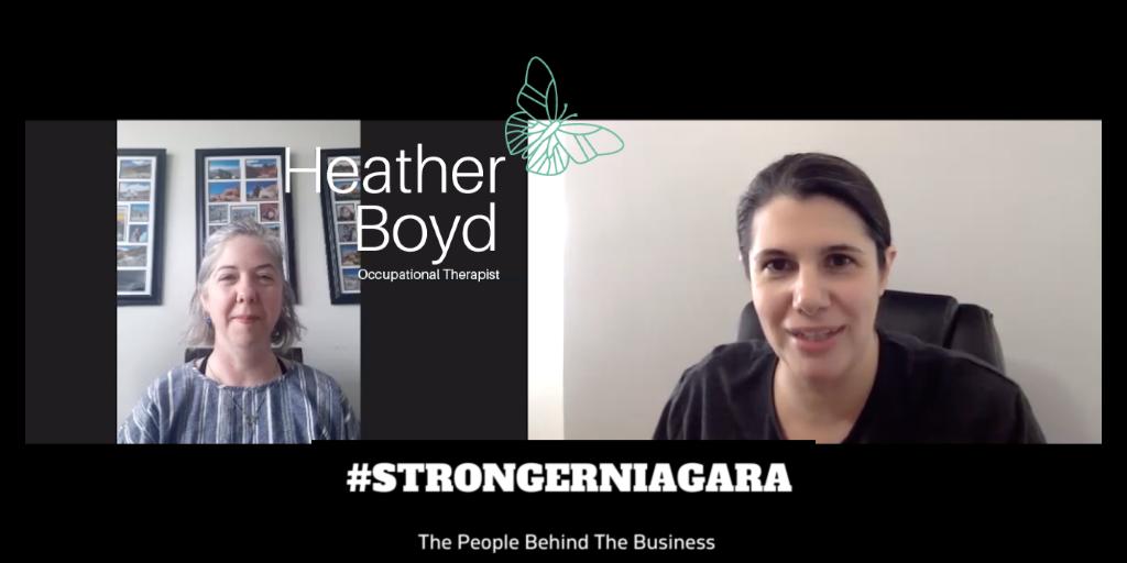 #STRONGERNIAGARA Episode 8: Meet Heather Boyd, Occupational Therapist