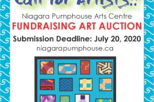 Call for Submissions: Niagara Pumphouse Fundraising Art Auction