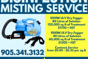 Disinfection Misting Service