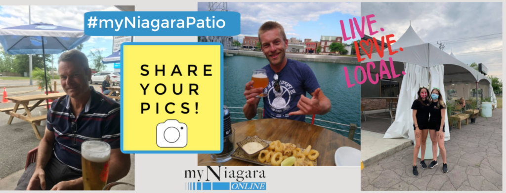 Community Shout Out Campaign: Share Your Favourite #myNiagaraPatio