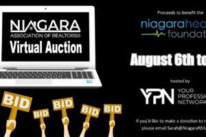 Announcing Niagara Associations of Realtors Virtual Auction in Support of Niagara Health Foundation