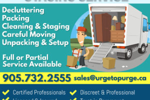 Downsizing or Relocating? URGE TO PURGE Can Help!