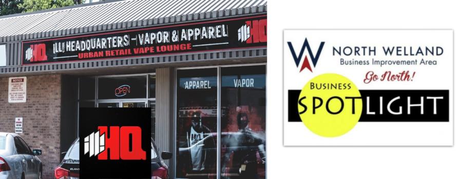 North Welland BIA Business Profile: ill! HQ – Vapor & Apparel