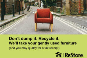 How to recycle your old furniture