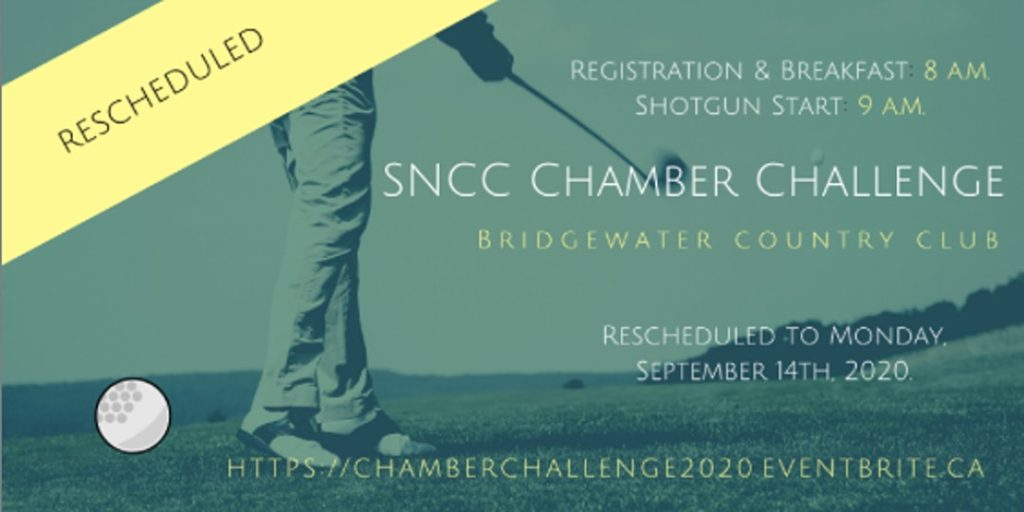 Rescheduled: South Niagara Chambers of Commerce Annual Golf Tournament