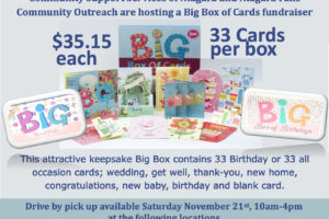 Big Box Fundraiser for Community Support Services Niagara