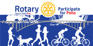 Rotary Clubs of Niagara Pedal for Polio Event October 24th