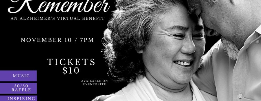 This third annual benefit event for the Alzheimer's Society is now virtual!