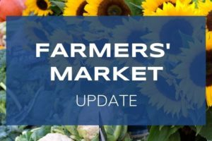 Port Colborne Farmers' Market Ending 2020 season Early – Friday Oct. 30th
