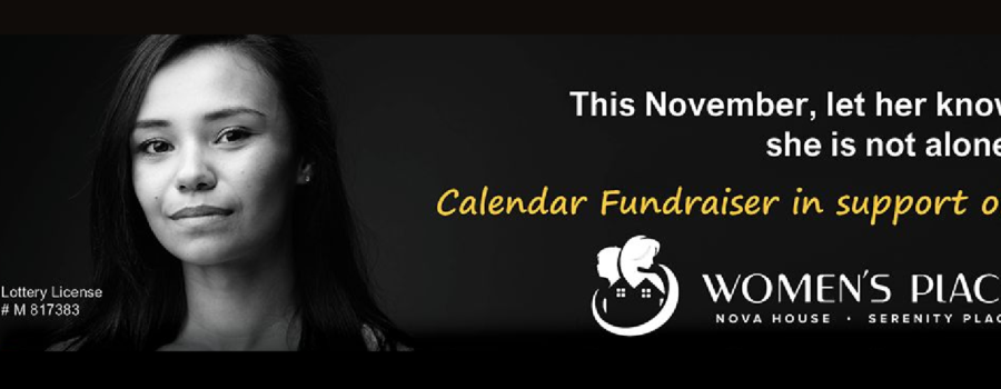 NEW THIS FALL! Women's Place Fundraising Calendar