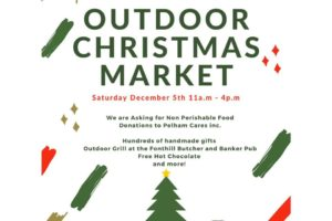 #SaveTheDate Outdoor Christmas Market in Downtown Fonthill