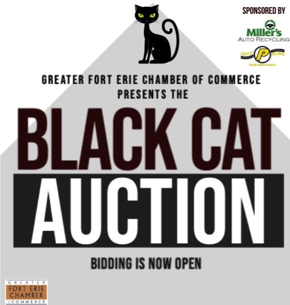 Black Cat Auction – Bidding Now Open! #myNiagaraSouthCoast