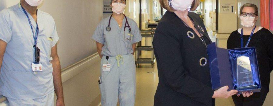 Niagara Health recognized for life-saving work