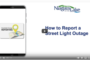 New Online Tool for Reporting Street Light Outages in #NOTL
