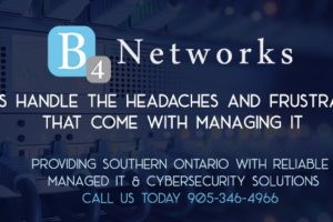 B4 Networks – Named One of Canada's Best Managed I.T. Companies for Fourth Year in a Row