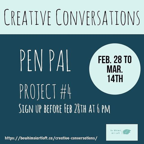 Combating Social Isolation with Creative Conversations
