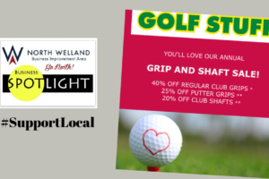 NWBIA Business Spotlight: Golf Stuff Annual Grip and Shaft Sale
