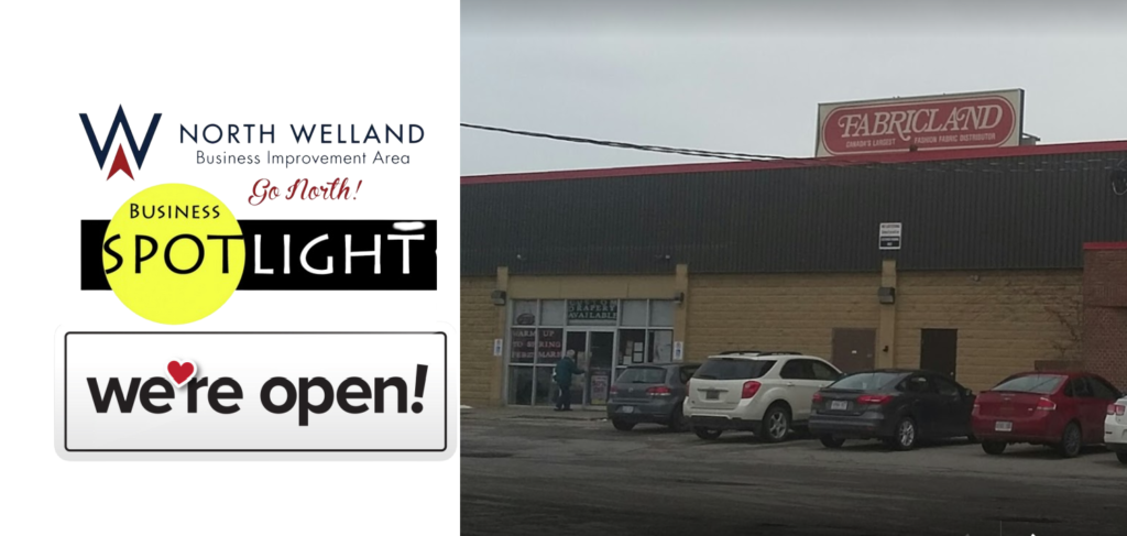 NWBIA Business Spotlight: Fabricland now Open – Curbside Pickup also Available