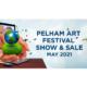 #SaveTheDate 2021 Online Pelham Art Festival May 1-15