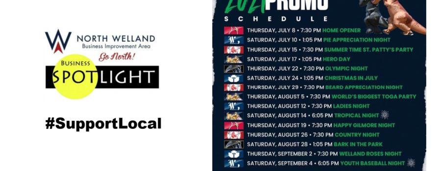 NWBIA Business Spotlight: Welland Jackfish Announce 2021 Schedule