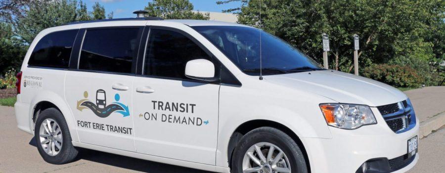Fort Erie On-Demand Transit service begins October 4