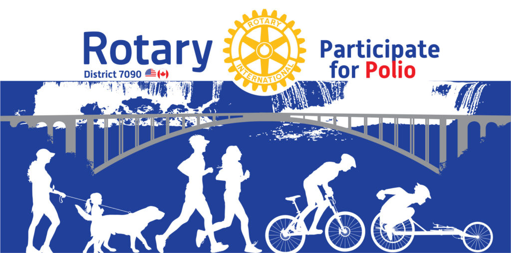 Pedal/Participate for Polio Event Sponsored by Rotary District 7090