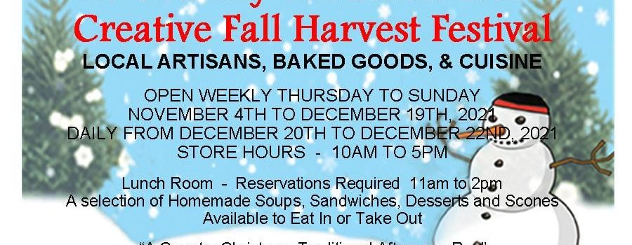 The Country Christmas Store's Creative Fall Harvest Festival